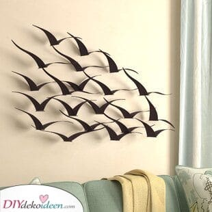 Ein Vogelschwarm – Gemeinsam fliegen