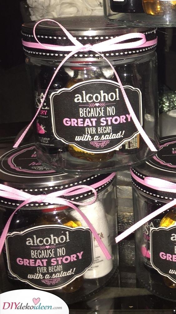 Ein Glas Schnaps – Weihnachtsgeschenk für Männer