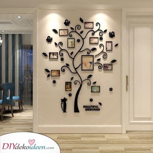 Toller Rahmen Baum – Deko für Wände