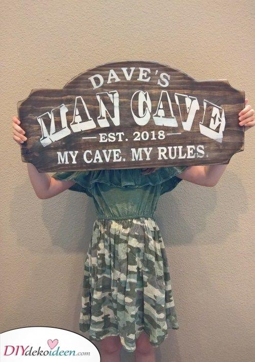 Seine Höhle, seine Regeln – Weihnachtsgeschenk für Männer