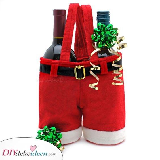 Zwei Flaschen Schnaps – Weihnachtsgeschenk für Ihren Bruder