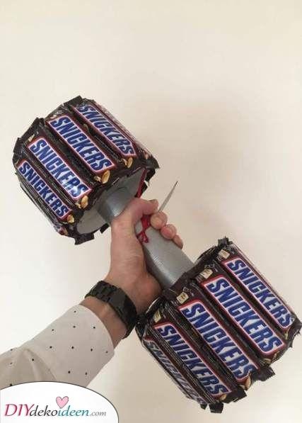 Schokoladen Gewichte – Geschenke für den Bruder zu Weihnachten