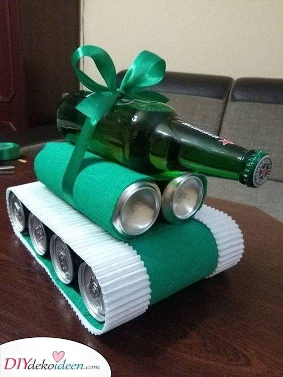 Ein Bier Tank – Weihnachtsgeschenk für Männer
