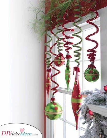 Spiralen und Ornamente – In Rot und Grün