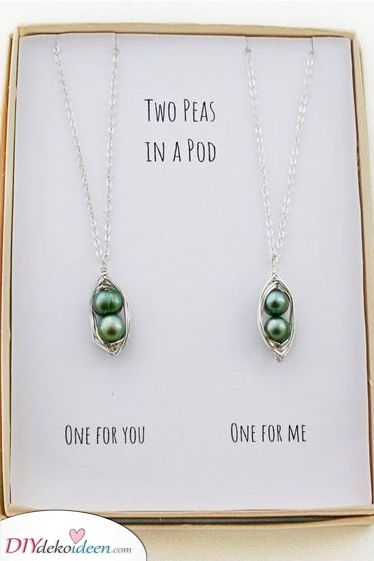 Nur zwei Erbsen – En schönes Geschenk