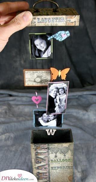 Eine Schachtel mit Fotos – Schöne Geburtstagsgeschenke für Freundinnen