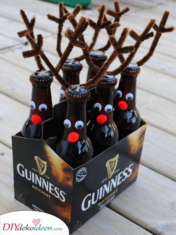 Entzückende Rentier Biere – Geschenke für den Bruder zu Weihnachten