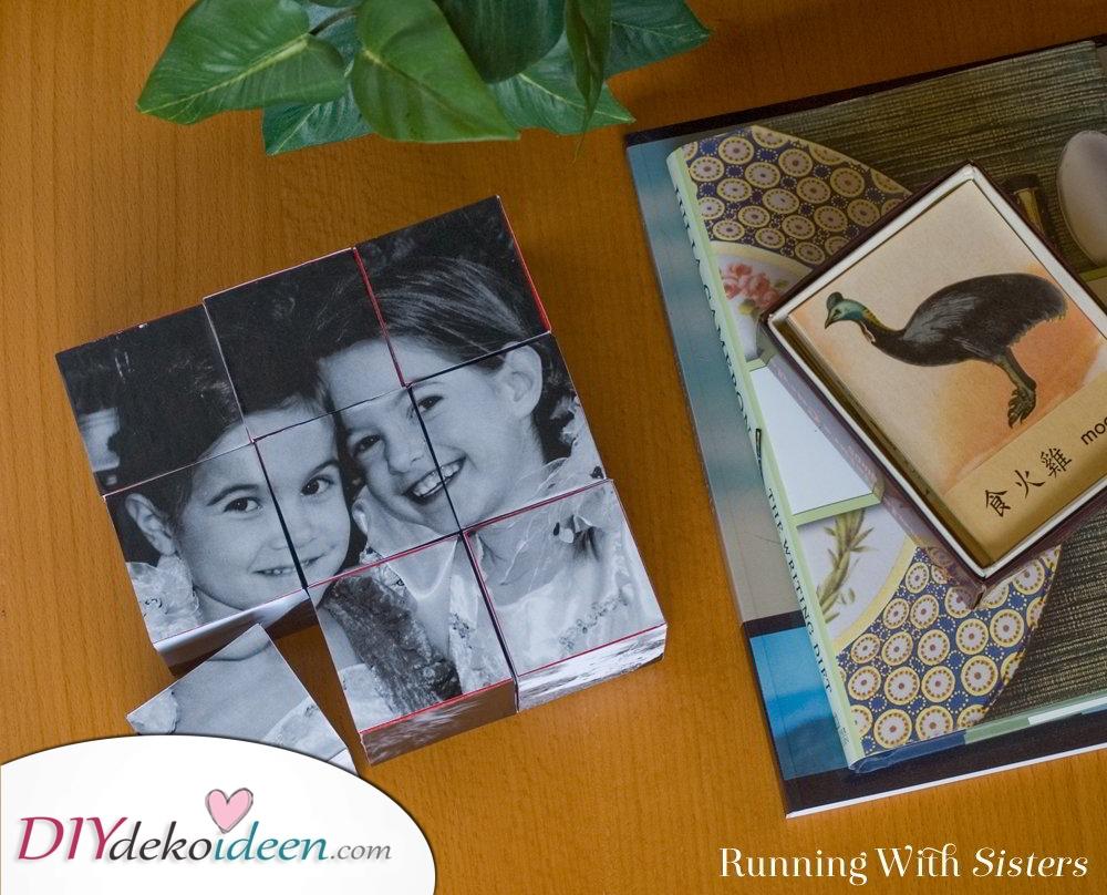 Foto Blöcke – Weihnachtsgeschenk Ideen für die Schwester
