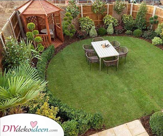 Ein wunderschöner Garten – Ideen für kleine Gärten