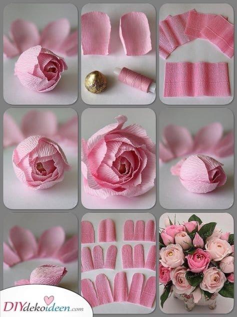 Papierblumen – Geburtstagsgeschenke die Sie zum lächeln bringen