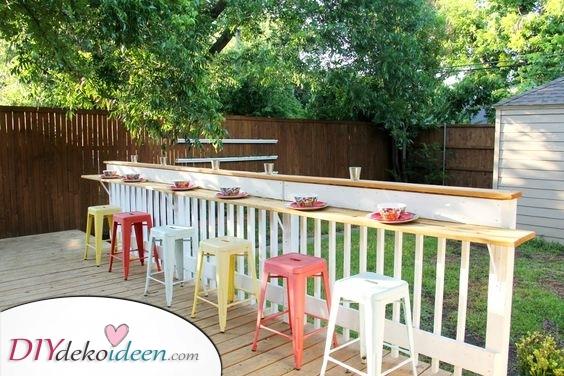 Bar im Garten – Kreative Ideen