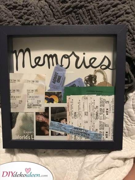 Eine Sammlung von Erinnerungen – Eine schöne Überraschung