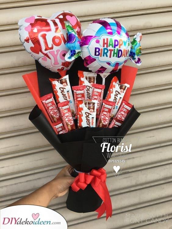 Ein Strauß Schokolade – Süße Ideen für Sie