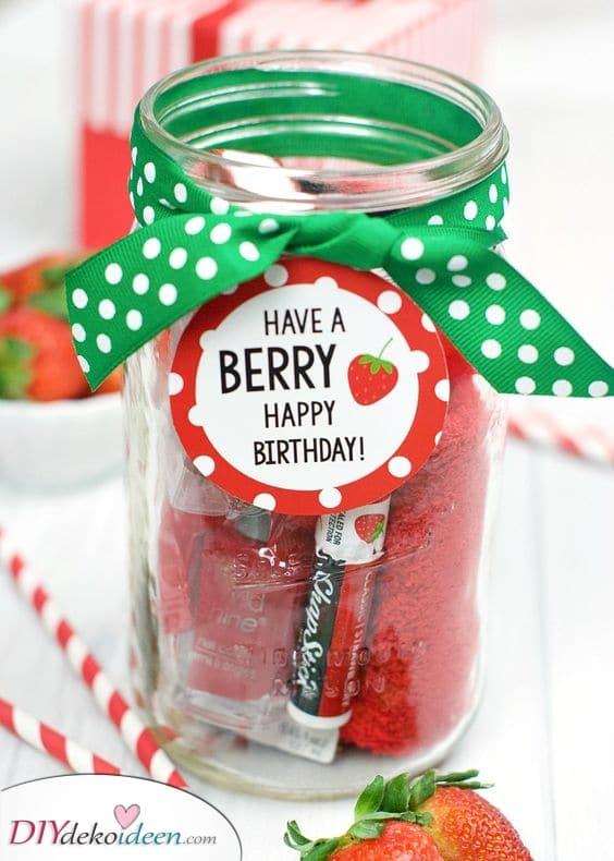 Ein Beerengeburtstag – Süße Geburtstagsgeschenke für Freundinnen