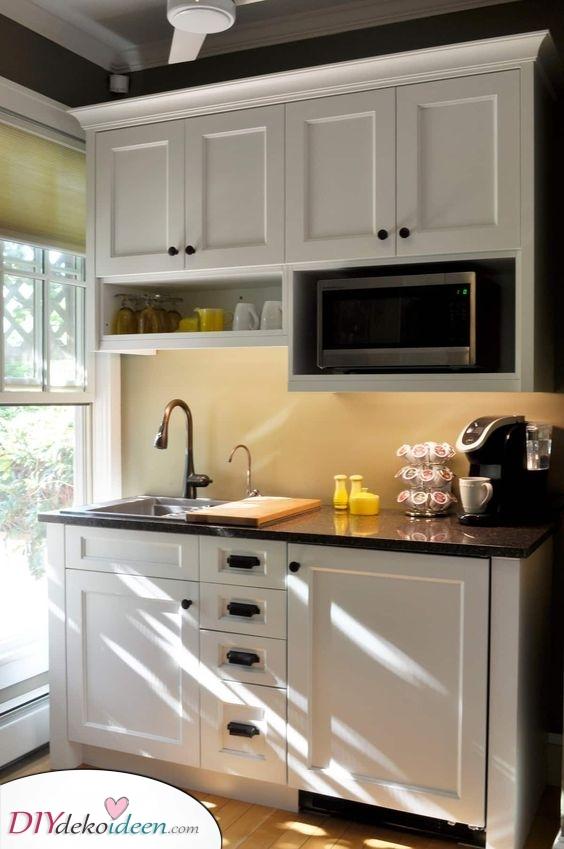 Unter der Treppe – Küchenideen für kleine Räume
