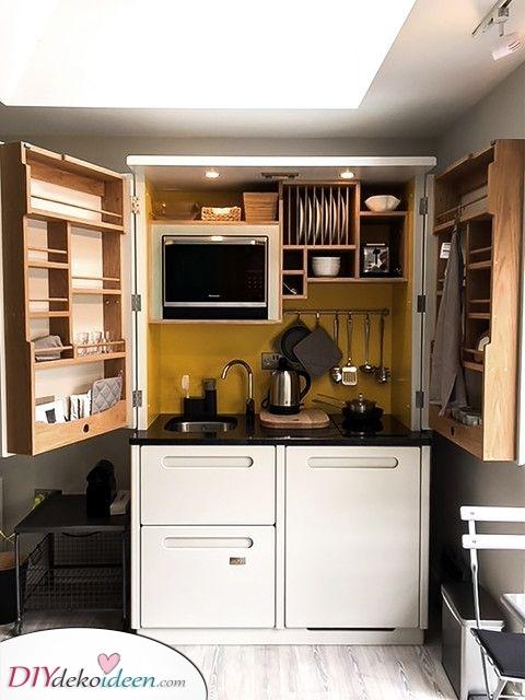 Organisch und natürlich – Kleine Küchen Ideen