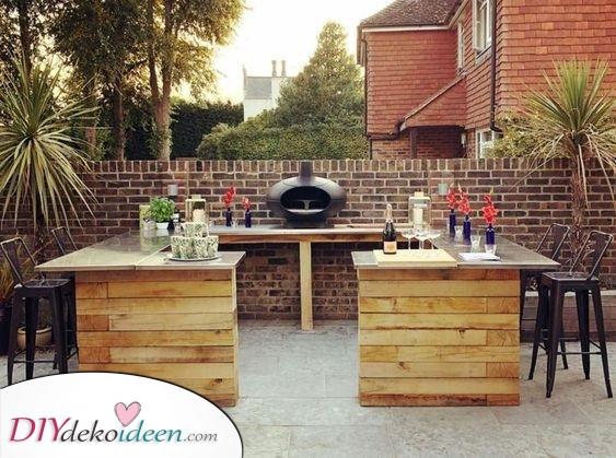 Fügen Sie einen Grill hinzu – Tolle Ideen für den Garten
