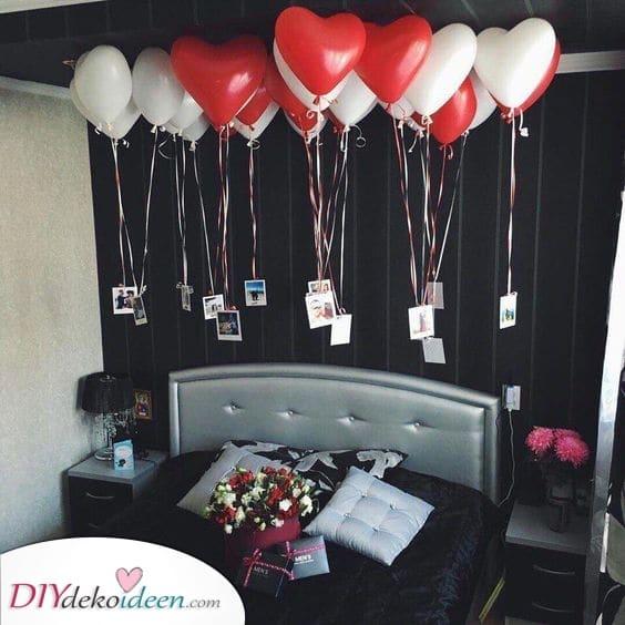 Sonnenbaden in Luftballons – Geburtstagsgeschenke für Freundinnen