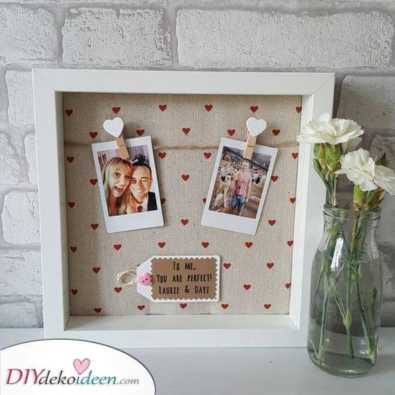 Gerahmte Polaroids – Ein paar Erinnerungen als Geburtstagsgeschenk für Freunde