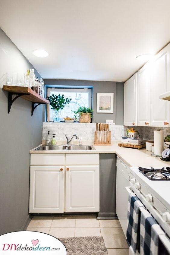 Zähler oder Tisch – Küchenideen für kleine Räume