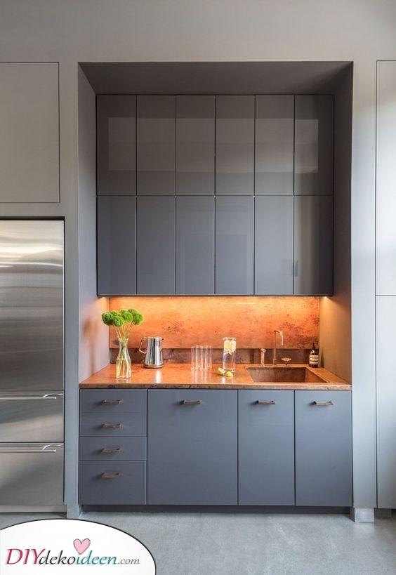 In der Ecke – Ein guter Ort für eine Ihre Küche