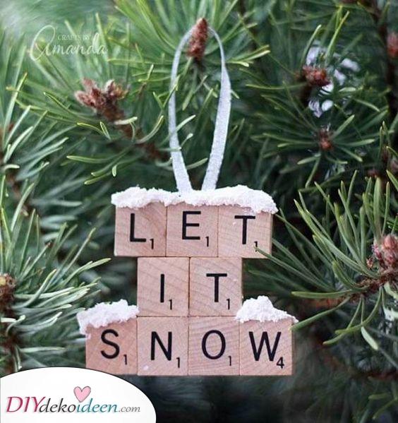 Lass es schneien – Kreativ bleiben