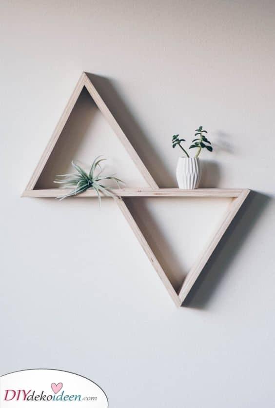 Eine moderne Essenz – Geometrische und selbstgemachte Kunst