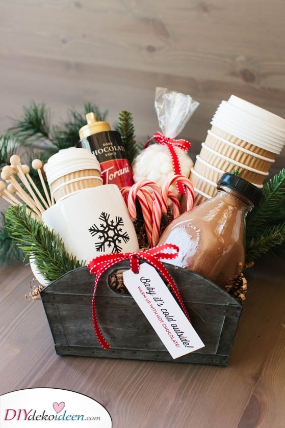 Ein großzügiger Geschenkkorb – Tolle Männer Weihnachtsgeschenke
