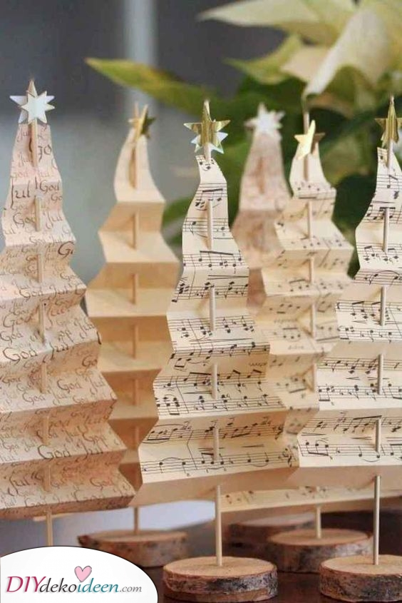 Musikalische Bäume – Erstaunlich für die Feiertage