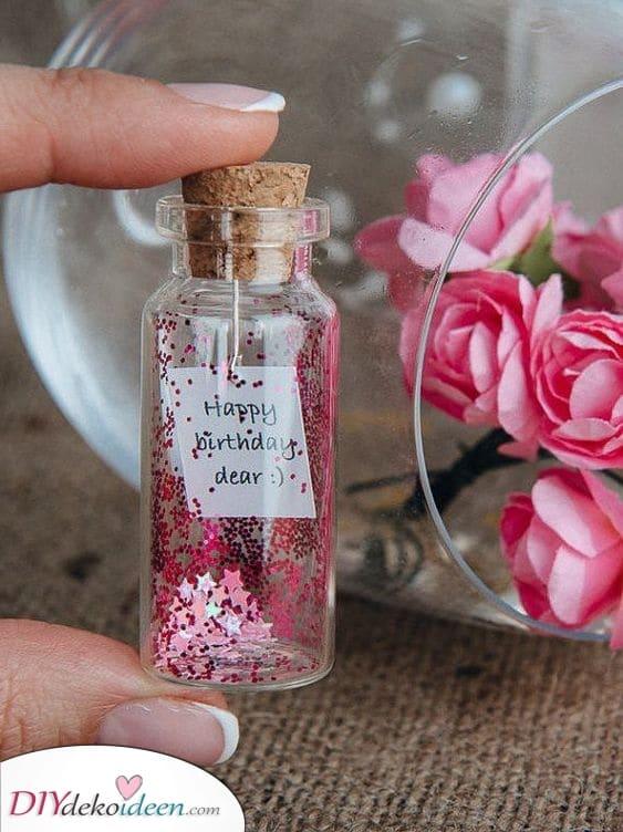 Eine Flaschenpost – Ein guter Wunsch
