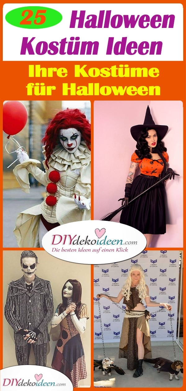 25 Gruselige Halloween Kostüm Ideen – Ihre Kostüme für Halloween