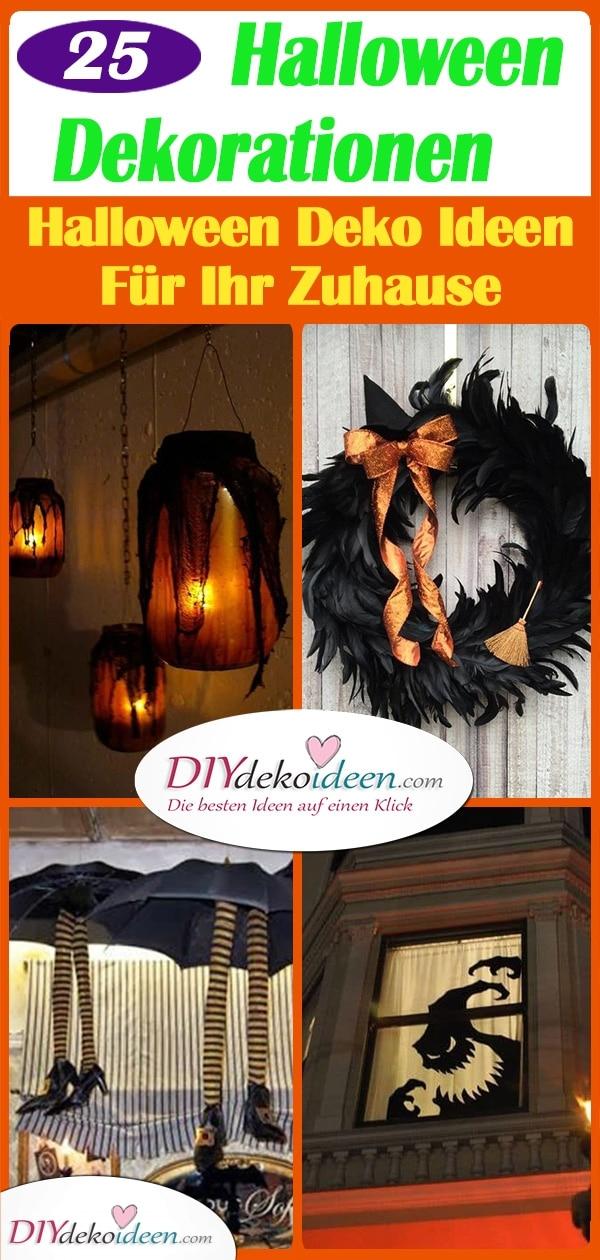 25 Tolle Halloween Dekorationen – Halloween Deko Ideen Für Ihr Zuhause